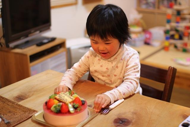 豆乳のイチゴムースケーキ(小米花さん作)
